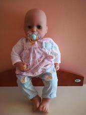 Zapf Baby Annabell interaktív fejét mozgató baba