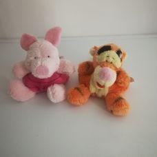 2 darabos miniplüss csomag - Malacka és Tigris
