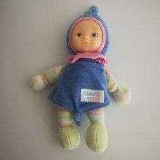 Simba baby első babám kék kapucnis puha rongybaba