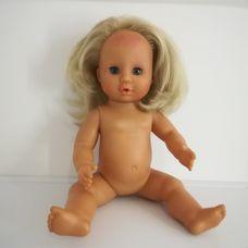 Zapf Baby DOC szőke hajú beteg kislány baba