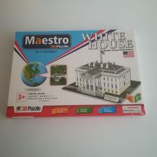 Maestro 3D puzzle A fehér ház