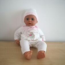 Zapf Baby Annabell interaktív csecsemő baba tüllös rugiban