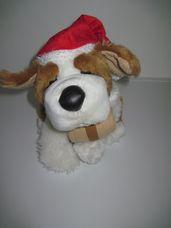 Interaktív ASDA éneklő, táncoló plüss bernáthegyi kutya