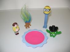5 darabos mesefigurás játékcsomag
