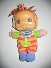 Playskool Első babám csörgős pihepuha rongybaba