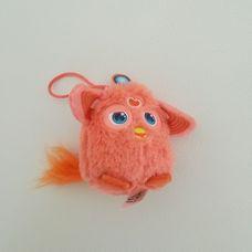 Mini plüss barackszínű Furby figura