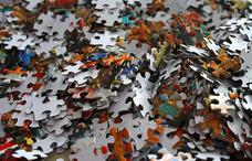 100-499 db-os puzzle, kirakó