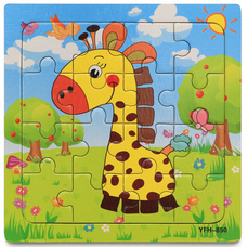 6-99 db-os puzzle, kirakó