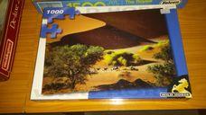 1000 darabos Szavannai életkép gnúkkal kirakó (puzzle)