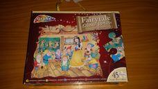 45 darabos Hófehérke és a hét törpe hiányos kirakó (puzzle)