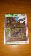 400 darabos őszi házrészlet kirakó (puzzle)