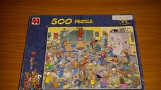 500 darabos tanórai rendbontás kirakó (puzzle)
