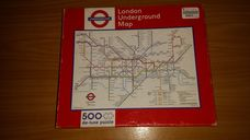 500 darabos londoni metrótérkép kirakó (puzzle)