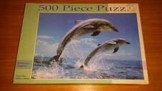 500 darabos két palackorrú delfin kirakó (puzzle)