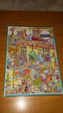 500 darabos irodai életkép karikatúra kirakó (puzzle)