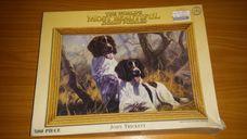 500 darabos két kutya az erdőben kirakó (puzzle)