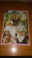 500 darabos rózsacsokor csendélet kirakó (puzzle)