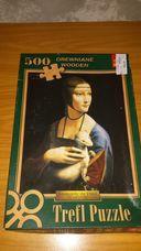 500 darabos Hölgy hermelinnel kirakó (puzzle)