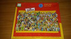 550 darabos A Simpson család teljes szereplőgárdája kirakó (puzzle)
