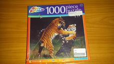 1000 darabos tigriscsata kirakó (puzzle)