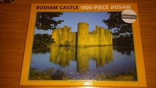 1000 darabos Bodiam kastély kirakó (puzzle)