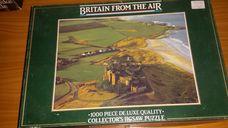 1000 darabos Anglia madártávlatból - tengerpart kirakó (puzzle)