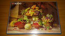 1000 darabos gyümölcsök kosarakban kirakó (puzzle)