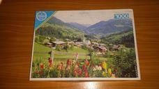 1000 darabos domboldali falu kirakó (puzzle)