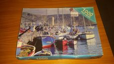 1000 darabos Los Christianos kikötő öböl kirakó (puzzle)