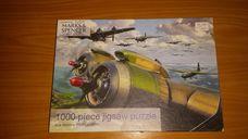 1000 darabos harci repülők bevetésen kirakó (puzzle)