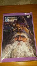 1000 darabos nagyszakállú bácsi kirakó (puzzle)