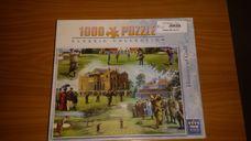 1000 darabos golfozás története kirakó (puzzle)