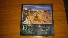 1000 darabos portugál tengerpart kirakó (puzzle)