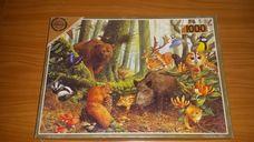 1000 darabos erdei állatok kirakó (puzzle)