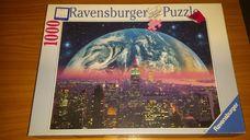 1000 darabos éjszakai metropolisz kirakó (puzzle)
