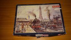 1000 darabos vasútállomás régen kirakó (puzzle)