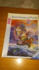 1000 darabos tündérhajó a tengeren kirakó (puzzle)