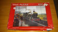 1000 darabos vasútállomás gyerekekkel kirakó (puzzle)