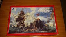 1500 darabos hajók háborúban kirakó (puzzle)