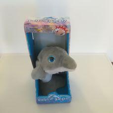 Interaktív táncoló éneklő plüss delfin