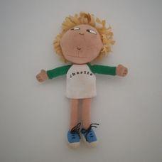 Plüss mini Charlie figura a Charlie és Lola című meséből