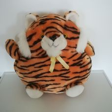 Prémium minőségű pakolható tigris plüss párna