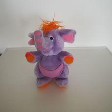 Eleroo Wuzzle lila színű félig elefánt félig kenguru plüss