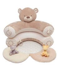 Mothercare Teddy macis felfújható babafotel, játszószőnyeg