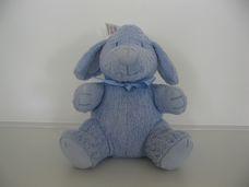 George new baby kék kutyus plüss bébijáték