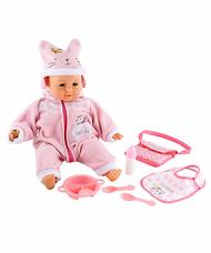 ELC Cupcake interaktív csecsemő baba kiegészítőkkel