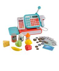 ELC Cash register kék pénztárgép kiegészítőkkel