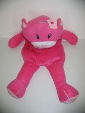 Nagyméretű rózsaszín PURRRRFECT cica tároló kislányoknak