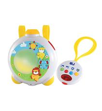 Mothercare Baby Safari zenélő vetítő projektor