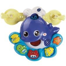 Vtech zenélő buborékfújó bálna fürdőszobai játék